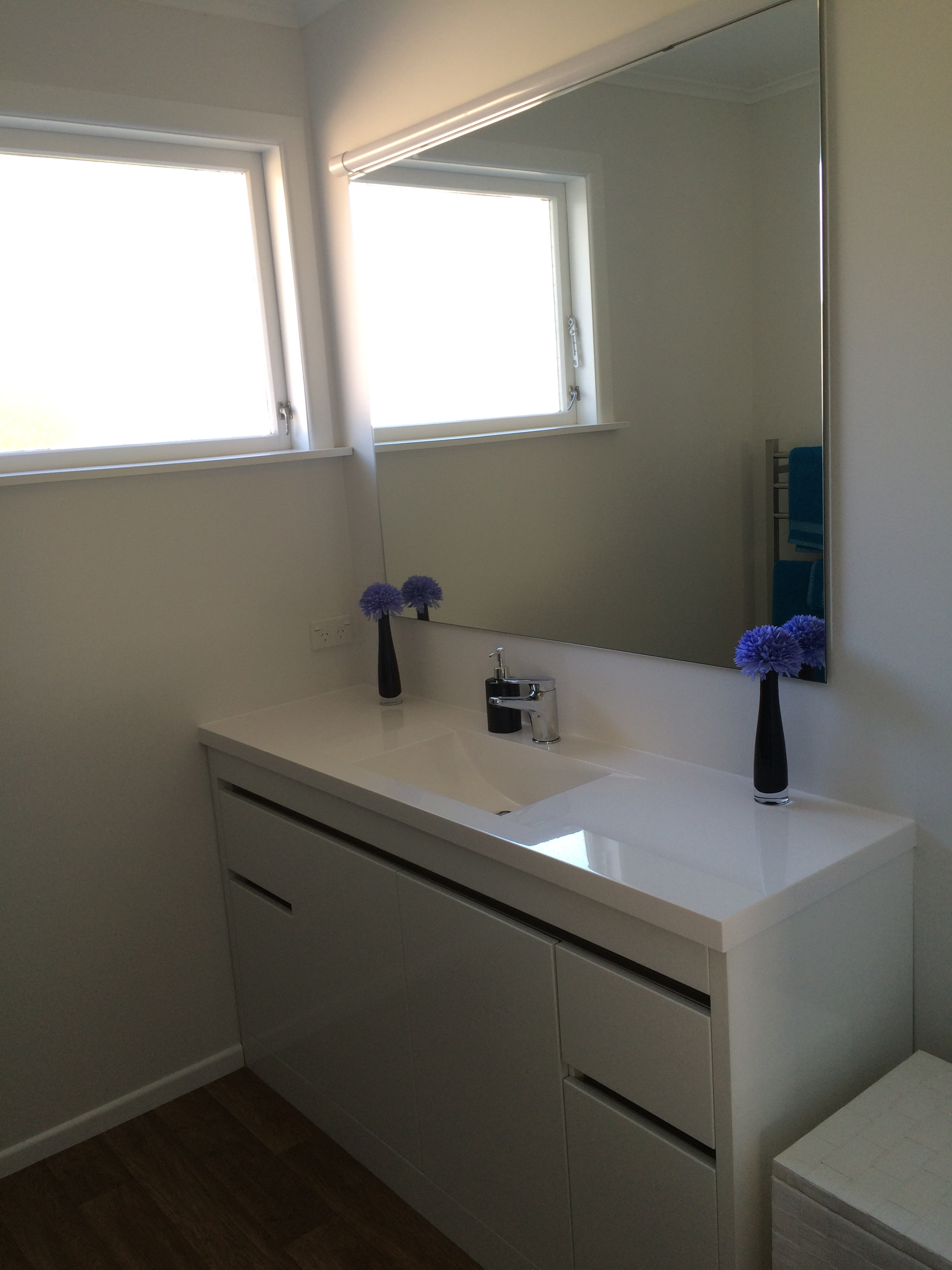 A bigger bathroom in Forrest HIll Bathroom renovation photo